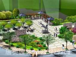 庭院设计图